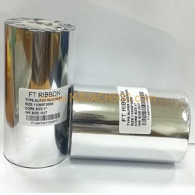Mực in mã vạch Super Wax Resin 110MMx300M I FT28PCK110300T1