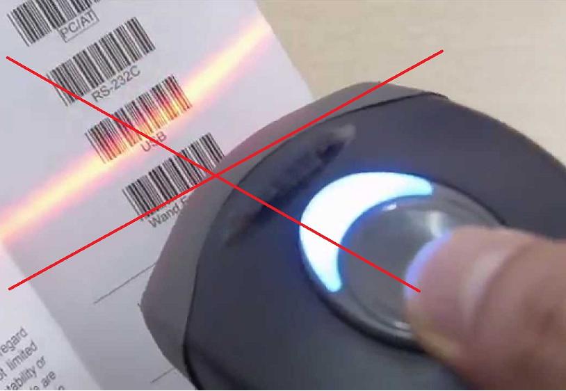 Lỗi thường gặp khi sử dụng máy quét mã vạch